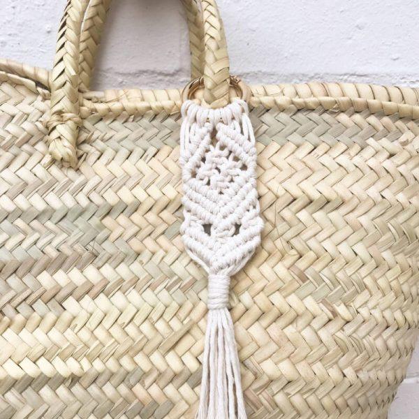 Macrame Bag Tassel