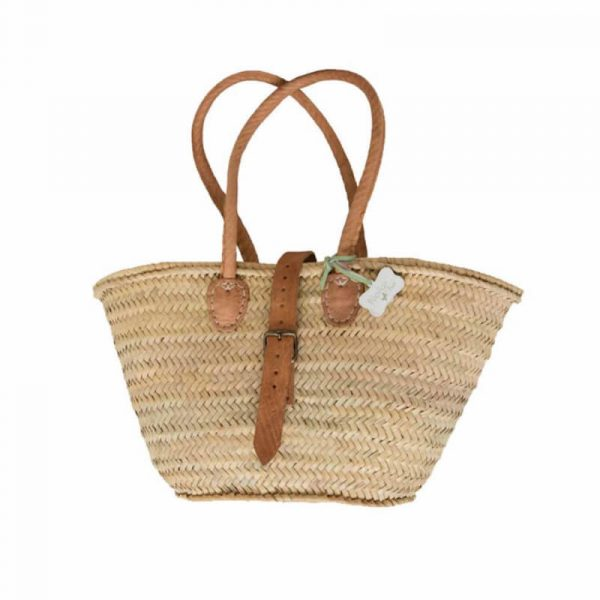 Abigail: Handwoven French Basket Bag