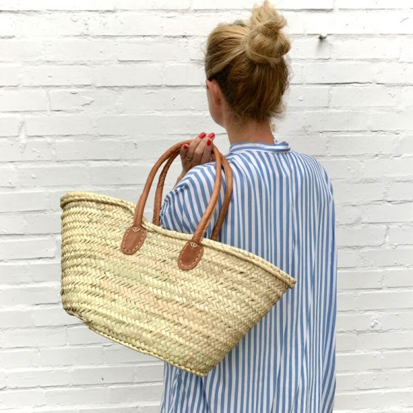 Annie: Handwoven French Basket Bag
