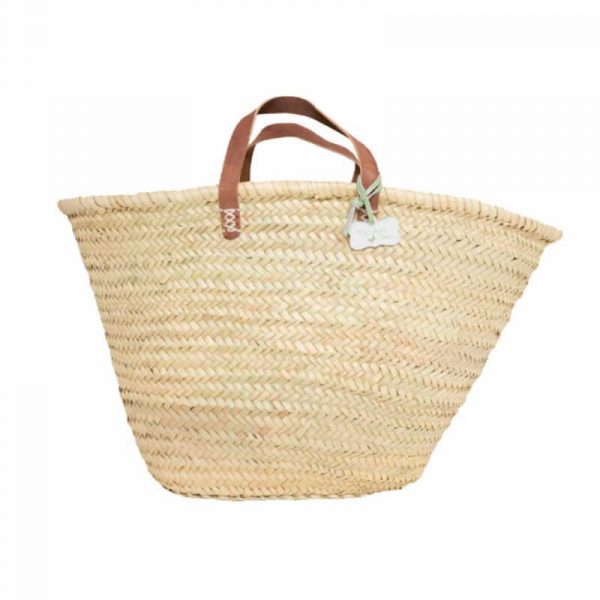 Darcey: Handwoven French Basket Bag