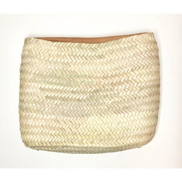 Elodie: Handwoven Clutch bag with Zip XL