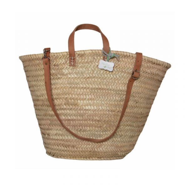 Gemma: Handwoven French Basket Bag