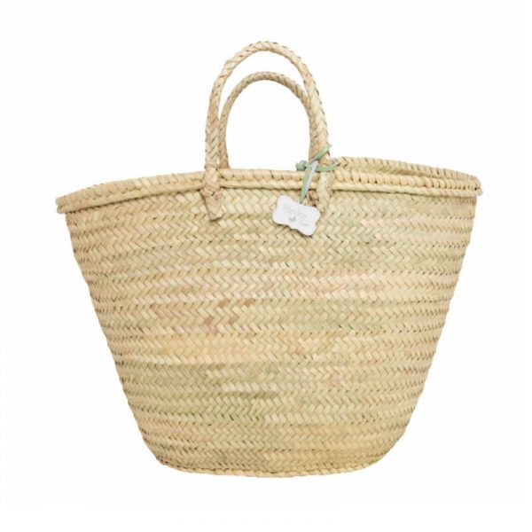 Jane: Handwoven French Basket Bag