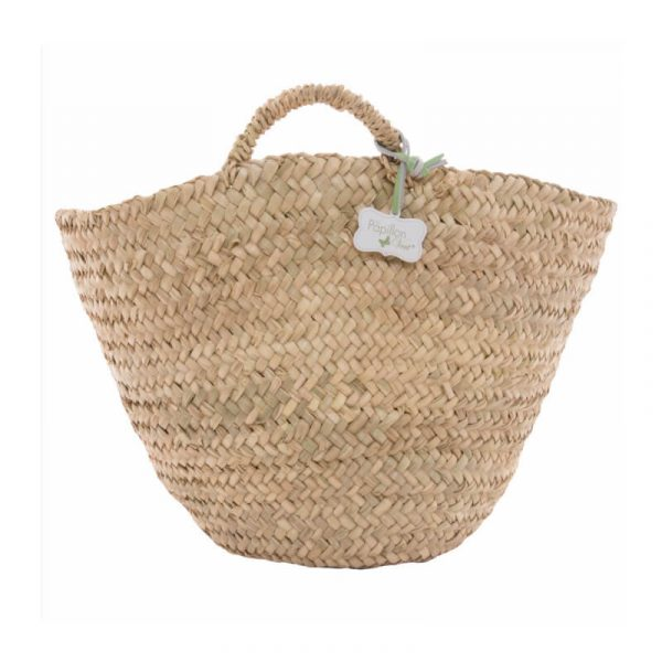 Martha: Handwoven Bucket Basket Bag