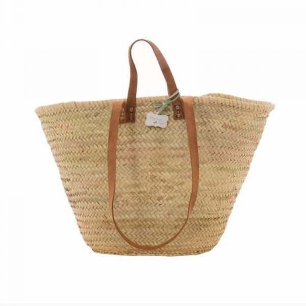 Sasha: Handwoven French Basket Bag