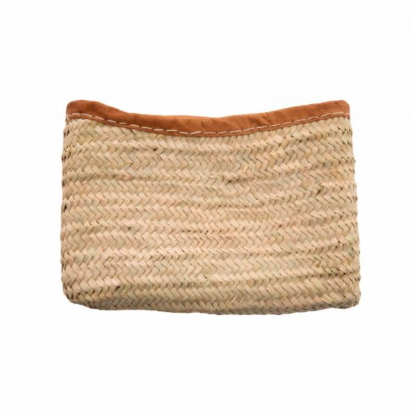 Handwoven Clutch Bag with Zip