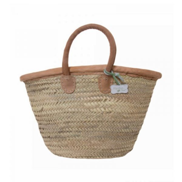 Katie: Handwoven French Basket Bag