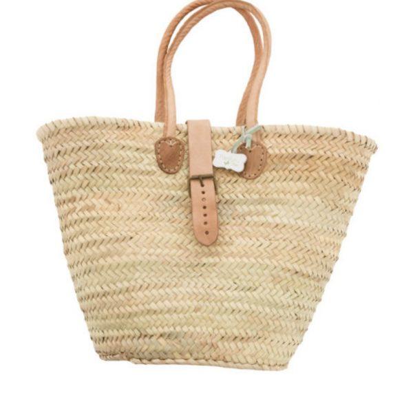 Joanne: Handwoven French basket bag